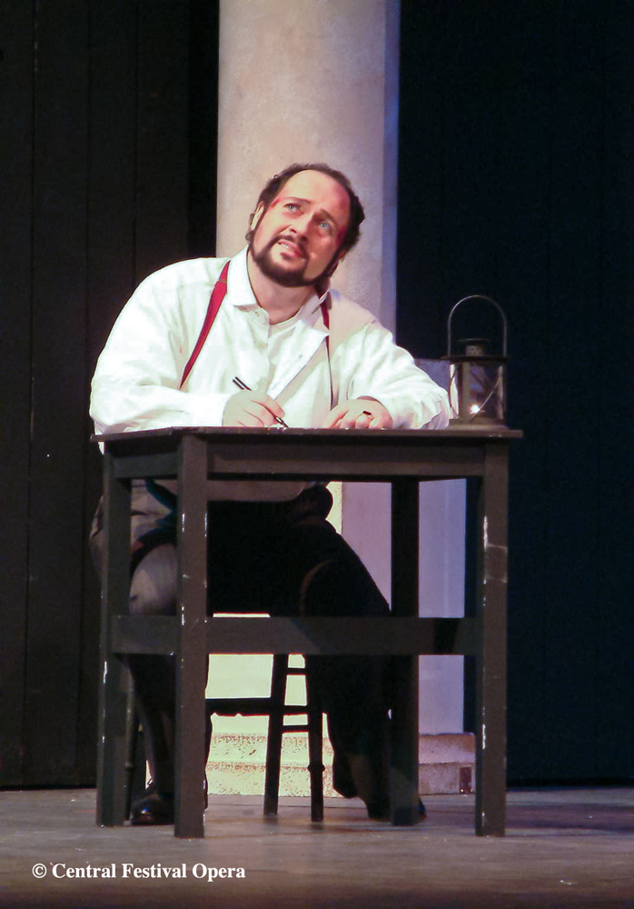Cavaradossi in Tosca Act 3