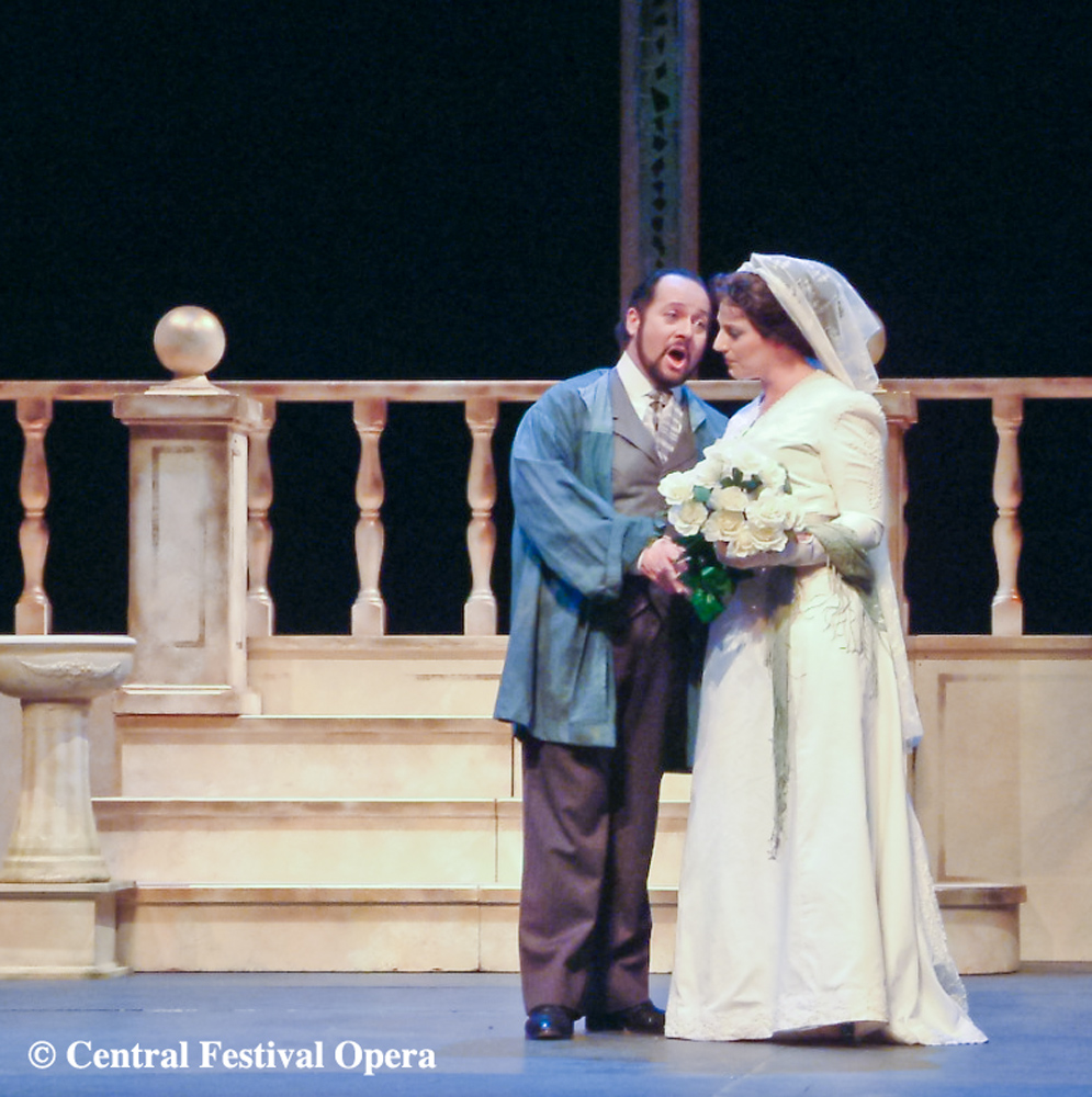 Cavaradossi in Tosca with Amanda Echalaz