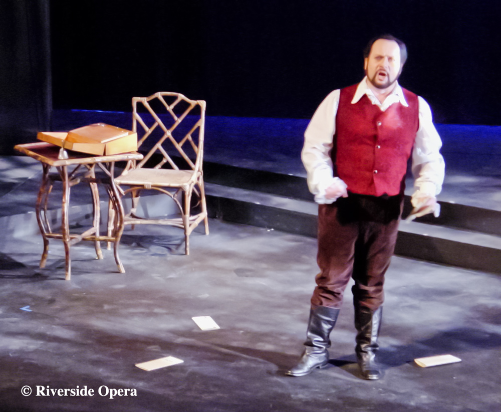 Alfredo inLa Traviata Act 2