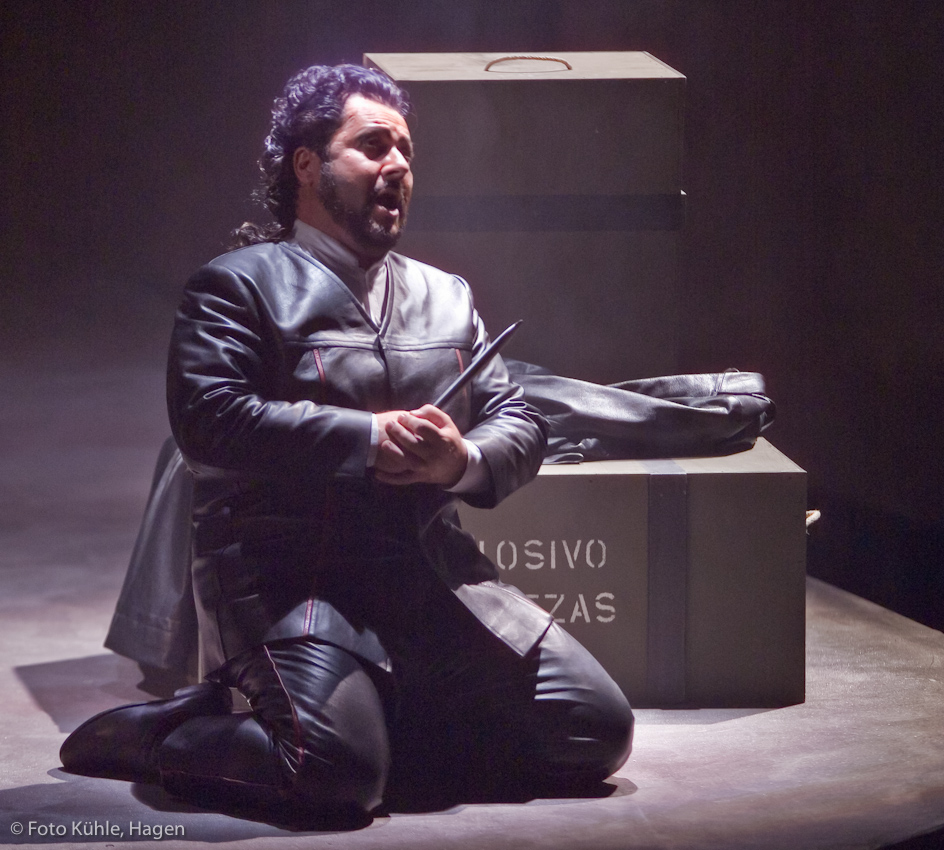Alvaro in La Forza del Destino Act 3