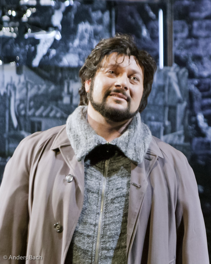 Rodolfo in La Boheme Act 3