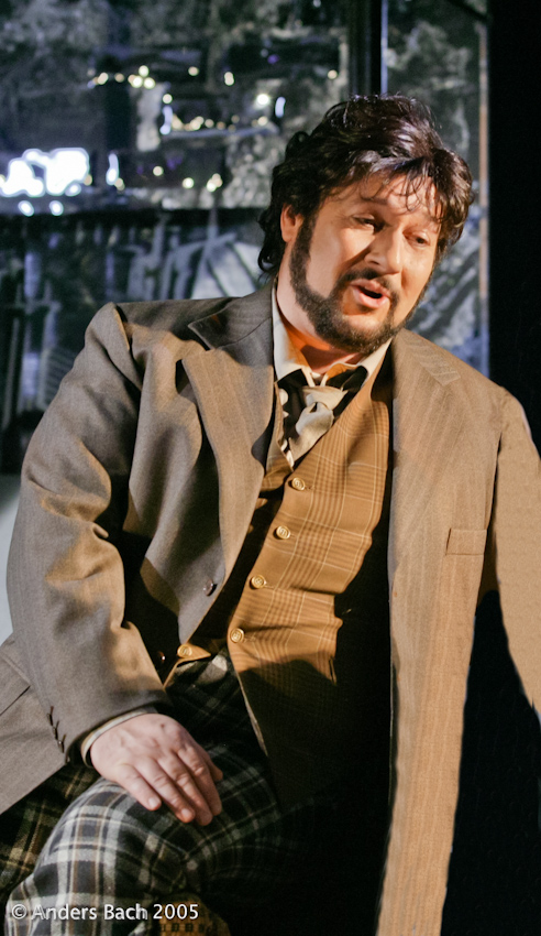 Rodolfo in La Boheme Act 1