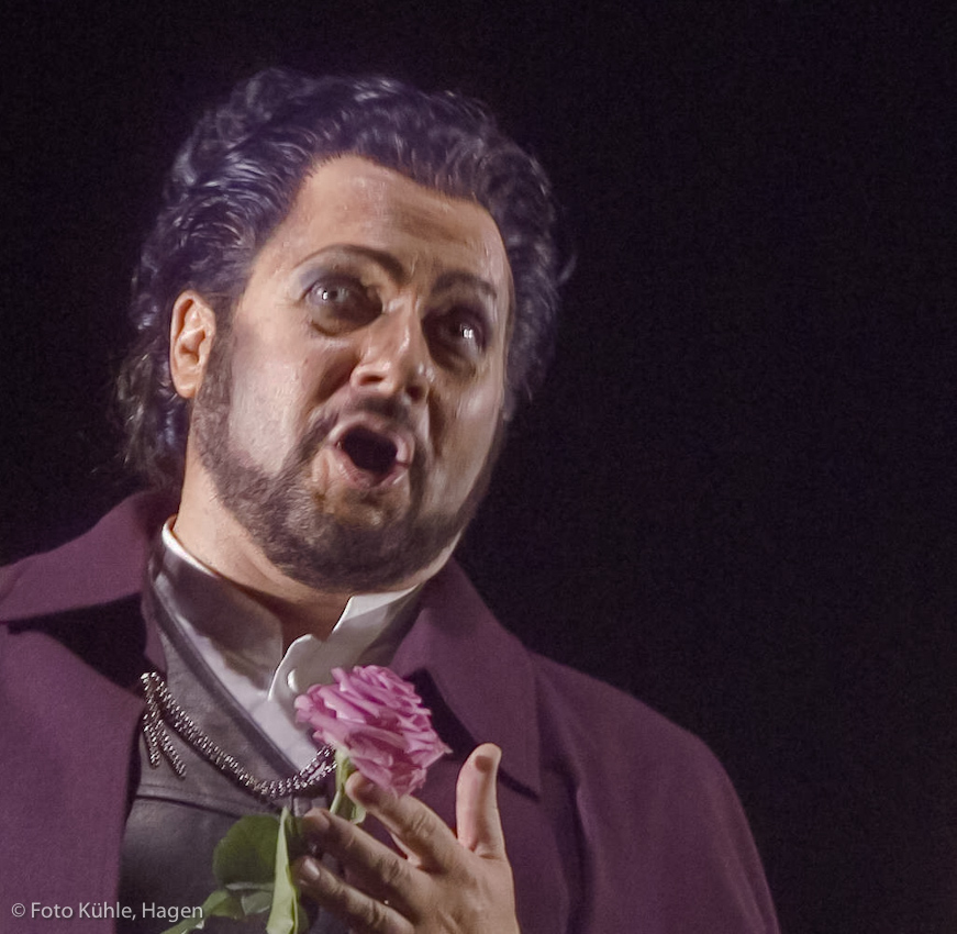 Alvaro in La Forza del Destino Act 1