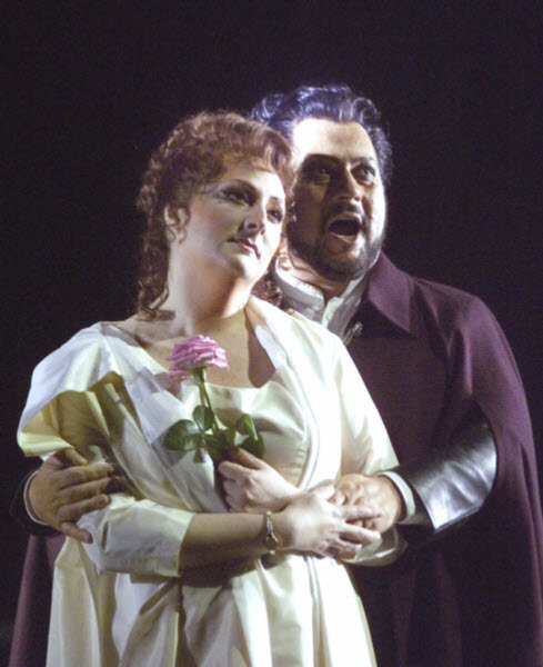 Alvaro in La Forza del Destino with Leonora