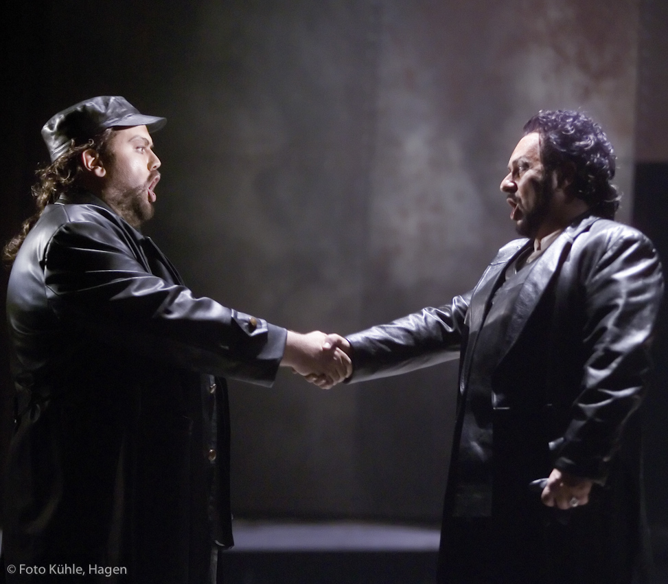 Alvaro in La Forza del Destino with Don Carlos