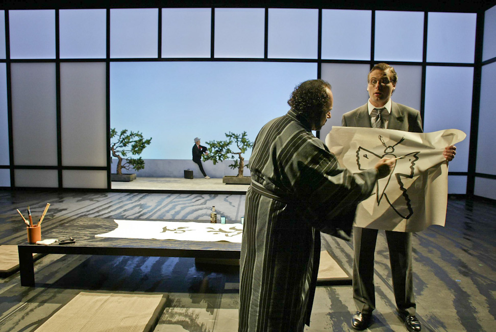 Pinkerton in Madama Butterfly © Anders Bach