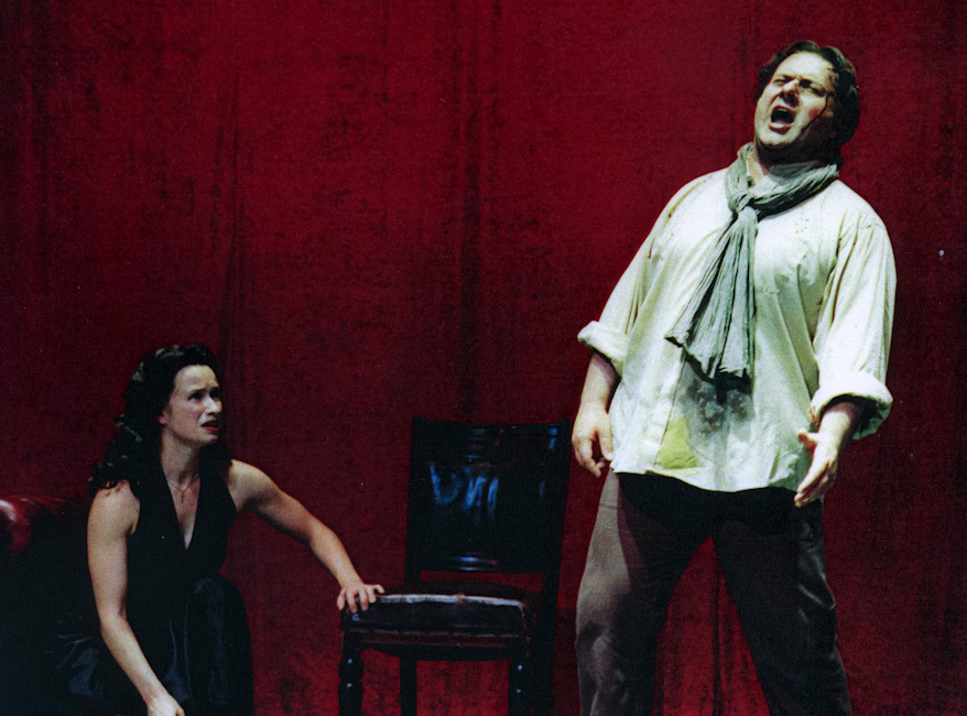Cavaradossi in Tosca © Canterbury University in Kent