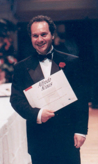 Alfredo Kraus Singing Competition 1992 First Prize